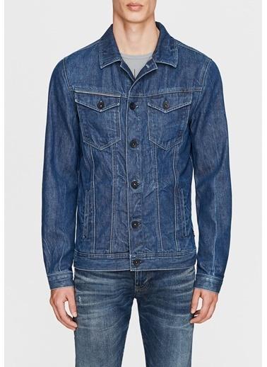 Mavi Jean Ceket   Frank - Dar Kesim İndigo